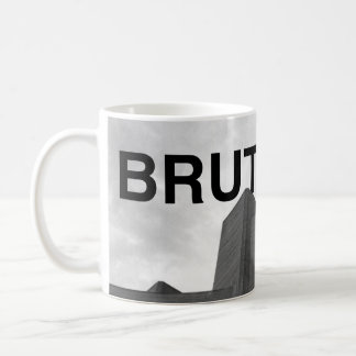 Tasse d'architecture de Brutalism