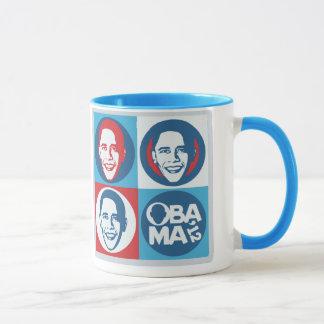Tasse d'art de bruit d'Obama 2012