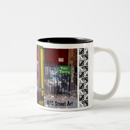 tasse d'art de rue de m NYC