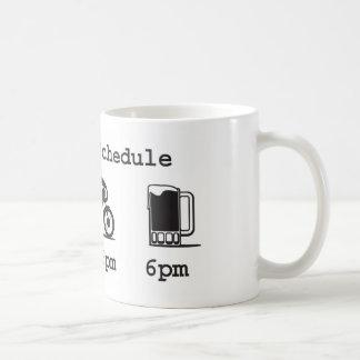 Tasse d'aujourd'hui de programme - café, 2wheels,