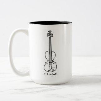 Tasse de accord de violon de scierie