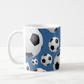 Tasse de ballons de football du football