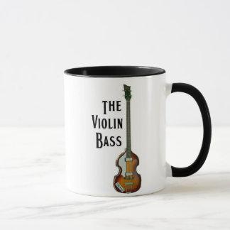 Tasse de basse de violon