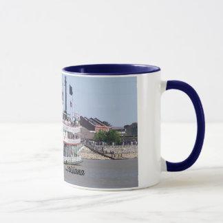 Tasse de bateau de la Nouvelle-Orléans Louisiane