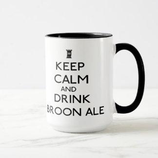 Tasse de bière anglaise de Broon