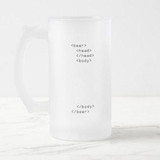 Tasse de bière de HTML
