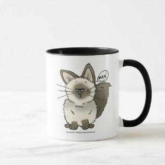 Tasse de bière de Mug_ de chat de Meh/voyage de