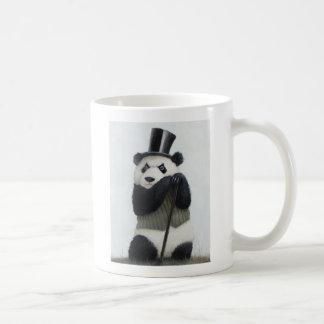 Tasse de blanc du panda 11oz de Perceval