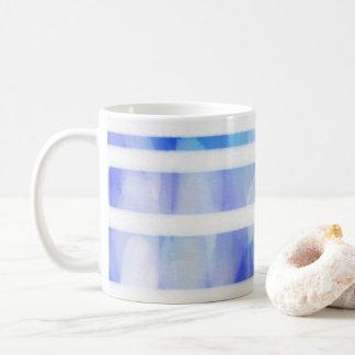 Tasse de bleu d'aquarelle
