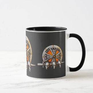 Tasse de bouclier de Viking