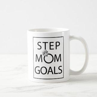 Tasse de buts de maman d'étape