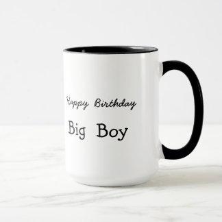 Tasse de cadeau de garçon de joyeux anniversaire