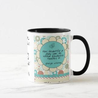 Tasse de cadeau de gentillesse de professeur