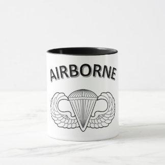 Tasse de café 11oz combinée aéroportée avec la