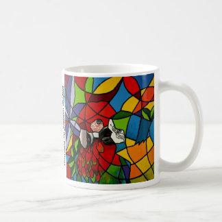 Tasse de café - aras - Caneca Araras