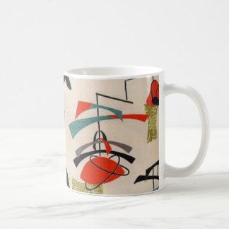 Tasse de café atomique moderne de tissu de la