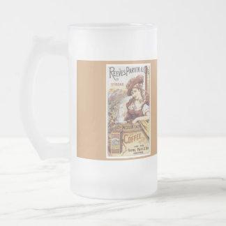 Tasse de café avec la conception vintage