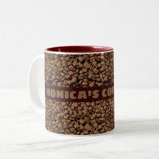 Tasse de café avec votre nom là-dessus