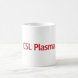 Tasse de café blanc de plasma de CSL