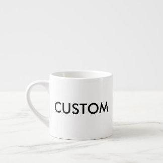Tasse de café blanche de café express de la