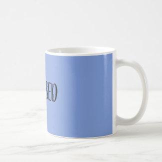 Tasse de café bleue BÉNIE