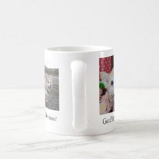 Tasse de café bonjour de kc
