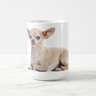 Tasse de café canine de chiot de chiwawa