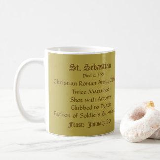 Tasse de café (carrée) de St SebastiAn (SNV 24) 1a