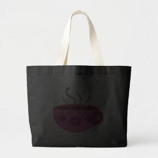 Tasse de café chaude sacs