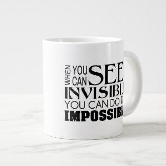 Tasse de café chrétienne - faites l'impossible