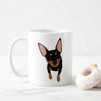 Tasse de café classique d'amant minimum de Pin