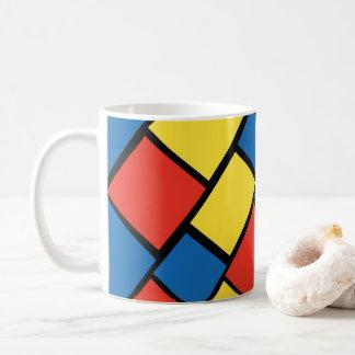 Tasse de café colorée lumineuse