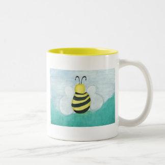 Tasse de café d'abeille