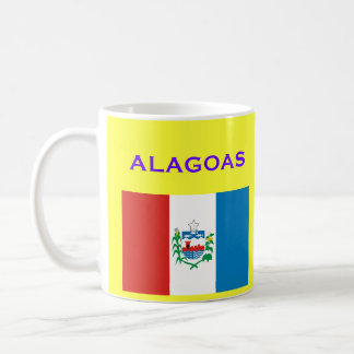 Tasse de café d'Alagoas* Brésil/Caneca de Alagoas