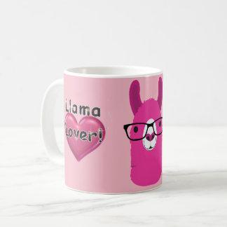 Tasse de café d'amant de lama