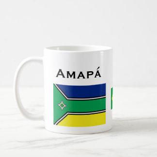 Tasse de café d'Amapá Brésil/Caneca de Amapá