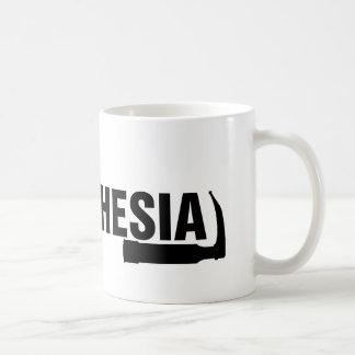 Tasse de café d'anesthésie première