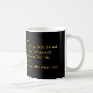 Tasse de café d'Anubis d'Egyptien