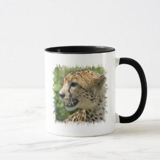 Tasse de café d'attaque de guépard