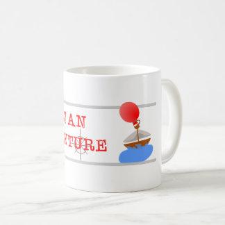 Tasse de café d'aventure