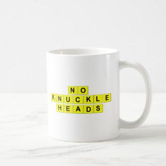 """Tasse de café de """"aucunes andouilles"""""""
