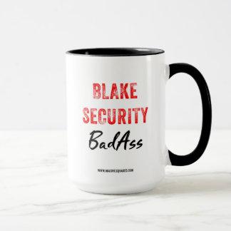 Tasse de café de BadAss de sécurité de Blake