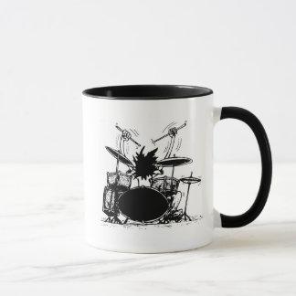 Tasse de café de batteur