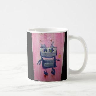 Tasse de café de Bot de sourire