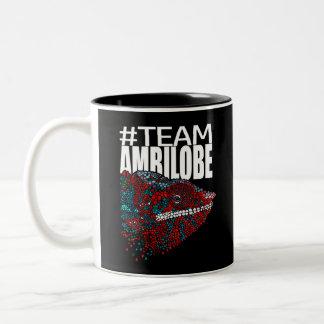 Tasse de café de caméléon