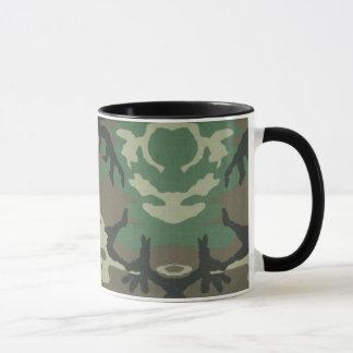 Tasse de café de Camoflage