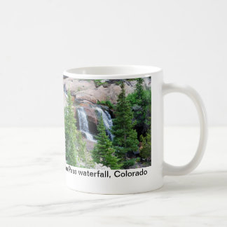 Tasse de café de cascade du Colorado