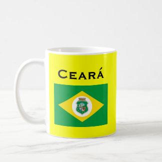Tasse de café de Ceará Brésil/Caneca DA Ceará