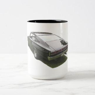 Tasse de café de chargeur de Dodge du noir 1967