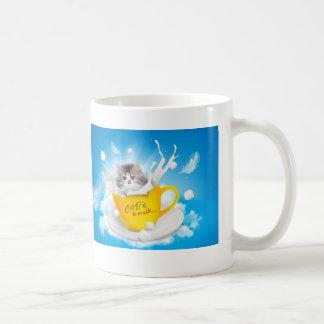 Tasse de café de chaton